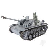 1:16 German Stug III (2.4GHz+Shooter+Smoke+Sound)