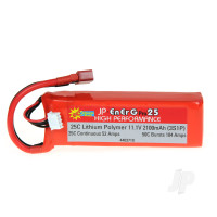 LiPo 11.1V 2100mAh 5C Charge (XH) 25C