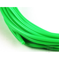 2mm (3/32) Silicone Fuel Tube Neon Green 10m