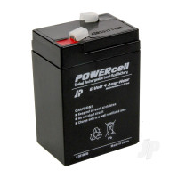6V 4Ah Powercell Gel Battery