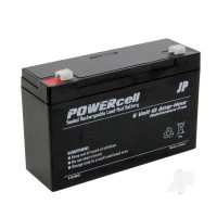 6V 10Ah Powercell Gel Battery
