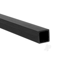 8mm 1m Carbon Fibre Square Tube, 0.65mm Wall