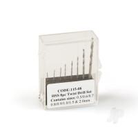 8PC HSS Drill Set 0.5-2mm (11508)