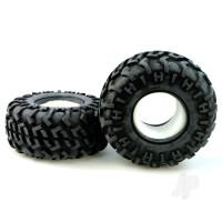 R/Ct-P010 Tyres with Sponge insert (Pair)