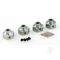 RCT-H009 Aluminium Wheel Hexagonal + Wheel Pin 2