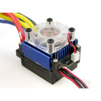 E401 100A Brushed ESC with Fan (Car/Truck)