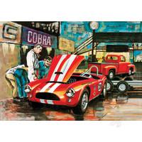 Cobra Racing Team Shelby Cobra & '53 Ford Pickup & Trailer