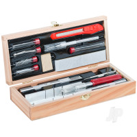 Deluxe Wooden Knife & Tool Set (Boxed)