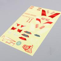 HoverCross Decal Sheet (Red)