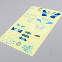 HoverCross Decal Sheet (Blue)