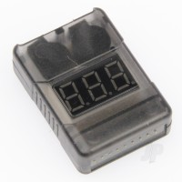 2-8S Battery Meter and Low Voltage Alarm