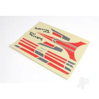 Decal Sheet, Red (Rivos)