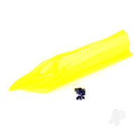 Hatch with Lock Knob, Yellow Painting, No Decals (Mad Flow Brushless)