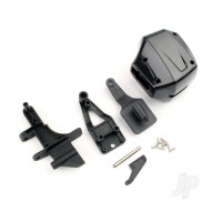 Scale Outboard Engine & Rudder, Rear Shaft Set (Mad Flow Brushed V2 / Brushless V2)