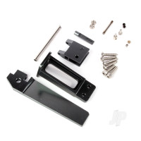 CNC Aluminium Alloy Rudder with Plastic Rudder Support Set