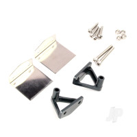 Stanless Steel Trim TABS & CNC Aluminium Alloy Stand Set (Upgrade Metal Part)