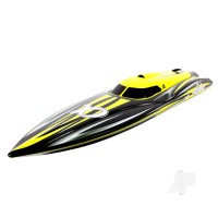 Alpha Brushless Boat 2.4GHz ARTR, Yellow