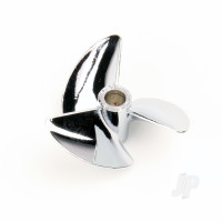 P1.4x37mm Three Blade Metal Propeller