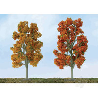 Scenic Fall Sycamore, 7.5in to 8in, O-Scale, (2 per pack)