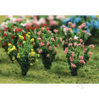 Hibiscus, HO-Scale, (18 per pack)