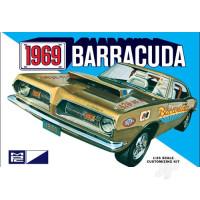 1:25 1969 Plymouth Barracuda