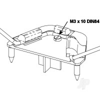 Undercarriage Support with Screw 723135