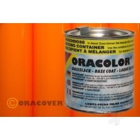 ORACOLOR 2-K-Elastic Varnish Fluorescent Signal Orange (160ml)
