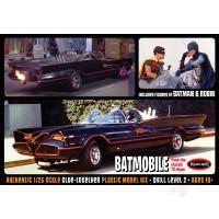 1:25 Batman 1966 Batmobile with Batman and Robin figures