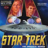 1:350 Star Trek TOS Enterprise 50th Anniversary Edition