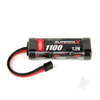 NiMH 7.2V 1100mAh 2/3A Stick, Deans (HCT)