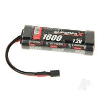 NiMH 7.2V 1600mAh 2/3A Stick, Deans (HCT)