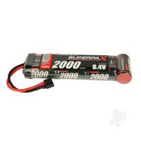 NiMH 8.4V 2000mAh SC 6-1 Stick, Deans (HCT)