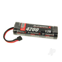 NiMH 7.2V 4200mAh SC Stick, Deans (HCT)