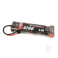 NiMH 8.4V 4200mAh SC 6-1 Stick, Deans (HCT)