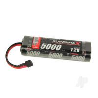 NiMH 7.2V 5000mAh SC Stick, Deans (HCT)