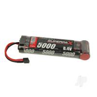 NiMH 8.4V 5000mAh SC 6-1 Stick, Deans (HCT)