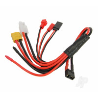 Charge Adapter Squid, HCT Female to XT-60, TAM, JST, Mini, FUT, Blank