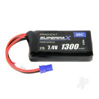 LiPo 2S 1300mAh 7.4V 20C EC2