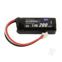 LiPo 2S 200mAh 7.4V 25C 3-Pin