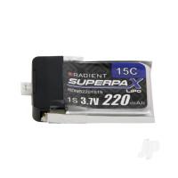 LiPo 1S 220mAh 3.7V 15C Ultra-Micro