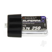 LiPo 1S 250mAh 3.7V 20C Ultra-Micro