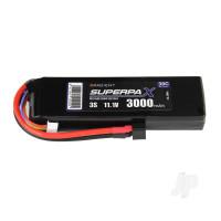LiPo 3S 3000mAh 11.1V 30C Deans (HCT)