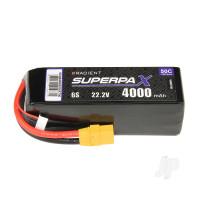 LiPo 6S 4000mAh 22.2V 50C XT90