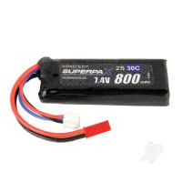 LiPo 2S 800mAh 7.4V 30C JST