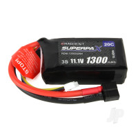 LiPo 3S 1300mAh 11.1V 20C Deans (HCT)