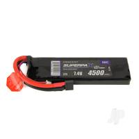 LiPo 2S 4500mAh 7.4V 50C Deans (HCT)