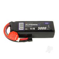 LiPo 3S 5000mAh 11.1V 35C Deans (HCT)