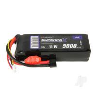 LiPo 3S 5000mAh 11.1V 50C Deans (HCT)