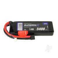 LiPo 2S 5400mAh 7.4V 20C Deans (HCT)