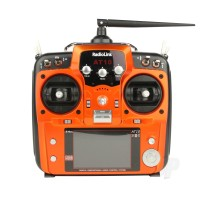 AT10II 2.4GHz 12-Channel Transmitter with Receiver (Orange) (Mode 1)